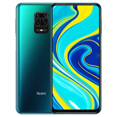 Смартфон Xiaomi Redmi Note 9 Pro (Global Version) (Зеленый/Tropical Green, 6/64 Gb)